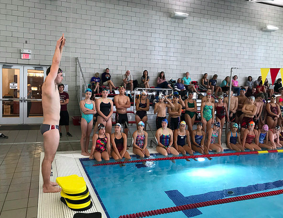 Swim clinics with andrew appleby osu record holder for Appleby swimming pool timetable