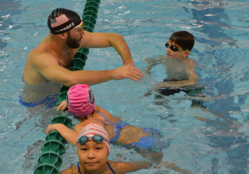 Swim clinics & Camps, Swim Videos by Fitter and Faster